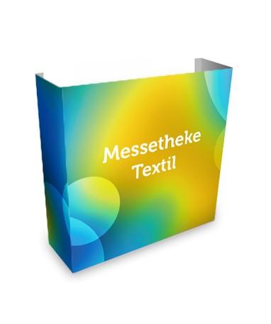 Nachdruck Messetheke Textil