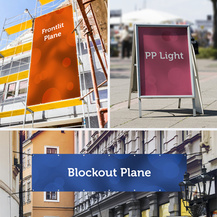 Werbeplanen PVC